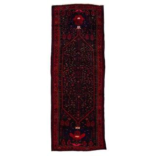 "Apadana - Vintage Persian Hamadan Rug, 5' X 13'5"""