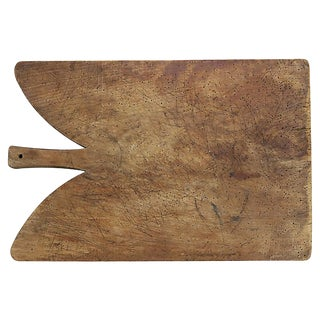 Antique Oversized French Cutting / Charcuterie Board For Sale