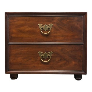 Henredon Asian Style Chinoiserie Nightstand / Bedside Chest For Sale