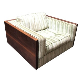 Low Lounge Case Back Chair For Sale