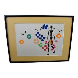 Henri Matisse Framed Print La Negresse