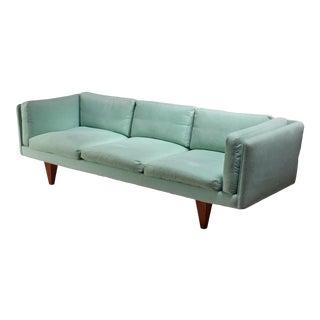 Illum Wikkelso Three-Seater Sofa, Denmark, 1960s For Sale