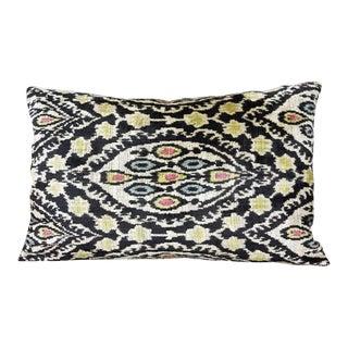 Moroccan Silk Velvet Down Feather Pillow