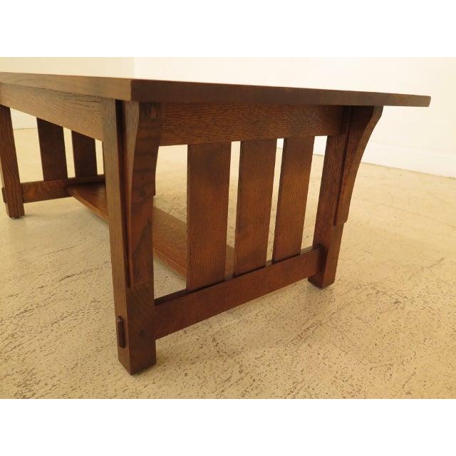 Warren Hile Studio Mission Oak Arts Crafts Coffee Table Chairish