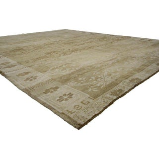 20th Century Turkish Oushak Rug With Warm, Neutral Colors - 8′1″ × 10′1″ Preview