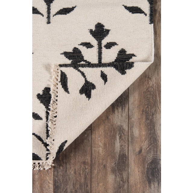"Contemporary Erin Gates Thompson Grove Ivory Hand Woven Wool Area Rug 3'6"" X 5'6"" For Sale - Image 3 of 5"