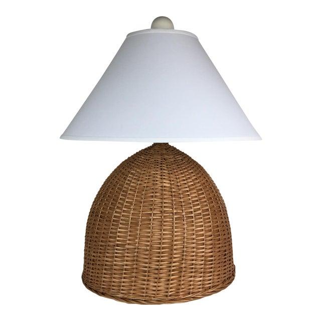 Lauren Grant Design Original Basket Lamp - Image 1 of 5