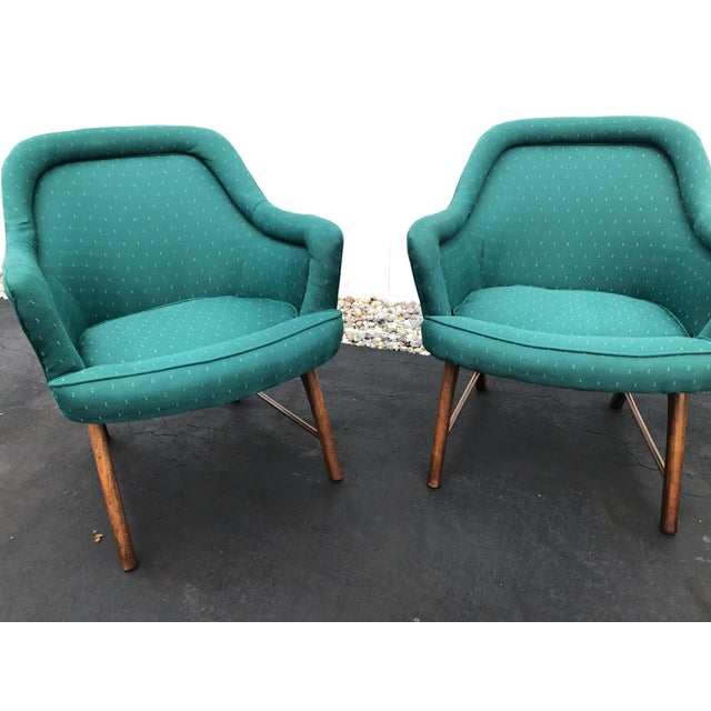 1970s Mid Century Pearsall Style Chairs- Set of 3 For Sale - Image 5 of 13