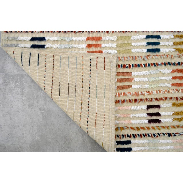 Hand Knotted Oushak Runner Rug - 2′8″ X 9′10″ - Image 10 of 10