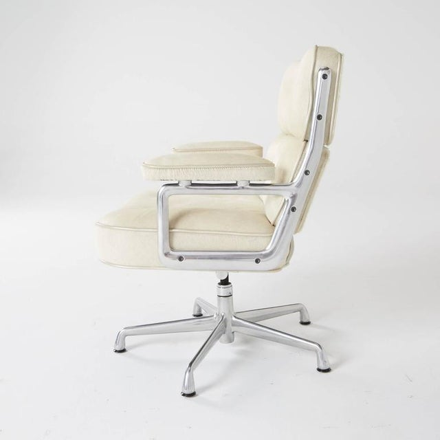 Hair-On Hide Time Life Lobby Chairs by Eames for Herman Miller For Sale - Image 7 of 8