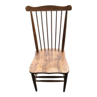 1950s Vintage H. W. Hull & Son Wood Chair For Sale