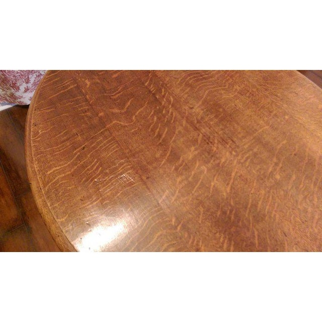 Brown 19th Century Louis Philippe Oval Table Normandy France For Sale - Image 8 of 9