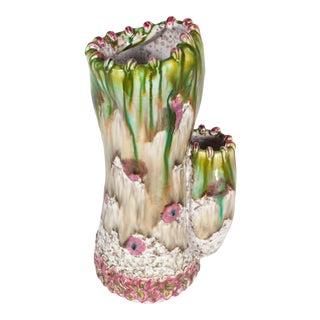 Unusual Fratelli Fanciullacci Italian Mid Century Vase For Sale