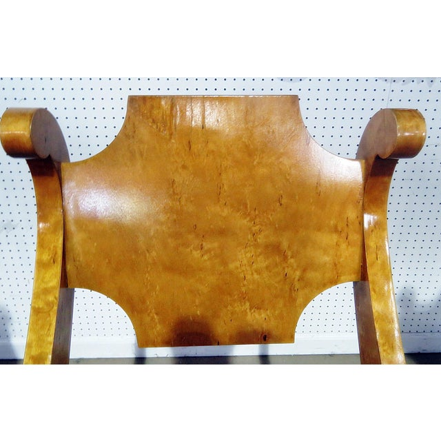 Tan Set of 4 Biedermeier Style Side Chairs For Sale - Image 8 of 13