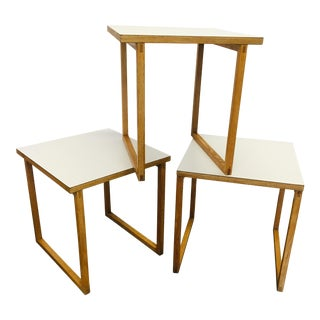 Kai Kristiansen Nesting Cube Tables Danish Modern MCM For Sale