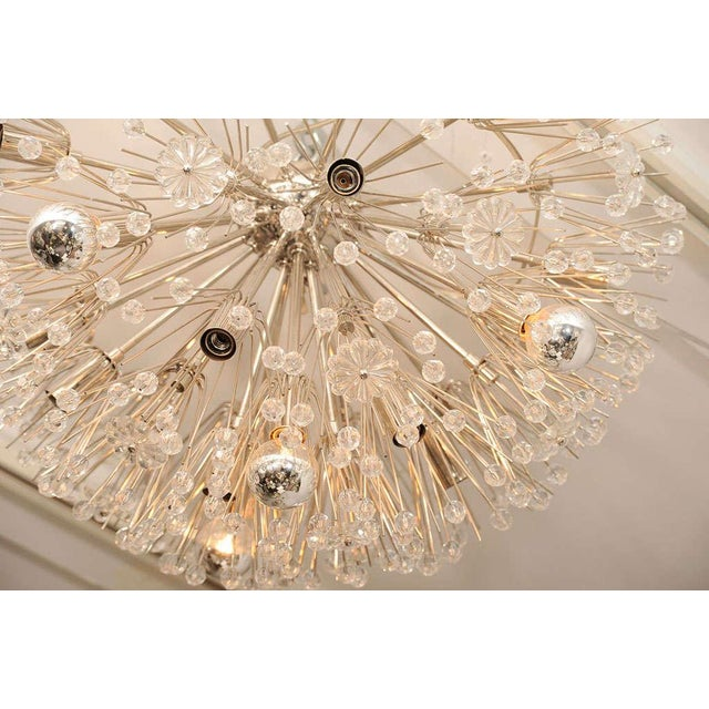 1960s Ceiling Hanging Austrian Chandelier For Sale - Image 5 of 7