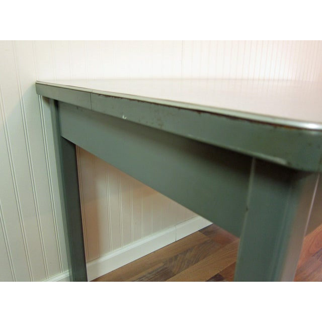 Mid-Century Haskell of Pittsburgh Industrial Table - Image 7 of 9