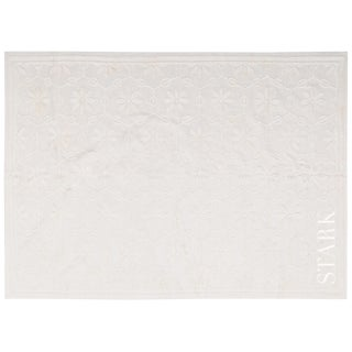 Stark Studio Rugs Contemporary 100% Linen Soumak Rug - 7′10″ × 9′8″ For Sale