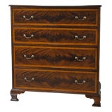 Image of Niagara Furniture Banded Mahogany Chest of Drawers For Sale