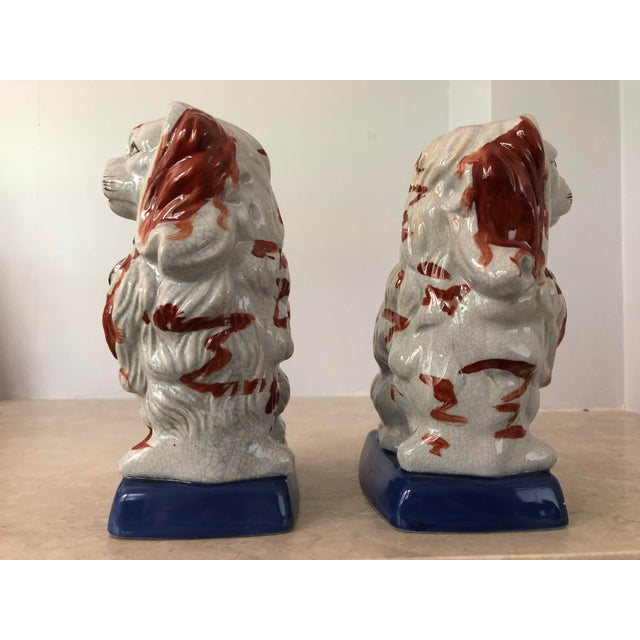 Pair of Staffordshire Dogs For Sale - Image 4 of 7