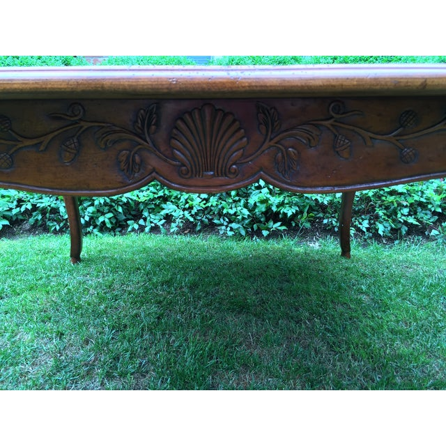 French Louis XV-Style Square Dining Table - Image 7 of 7