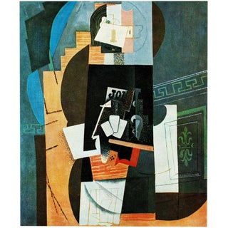 """1971 Picasso, """"Card Player"""" Parisian Period Photogravure For Sale"""
