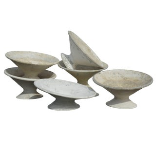 French Tilted Planters for Eternit by Willy Guhl For Sale