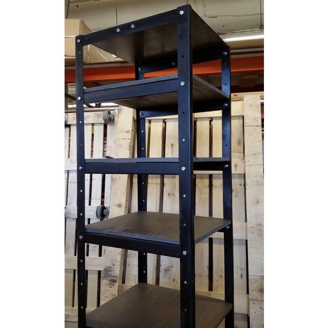 Vintage Industrial Shelving Unit - Image 4 of 8