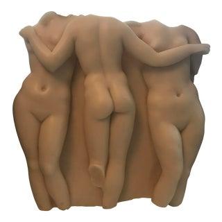 Moma 3 Graces Wall Sculpture Replica