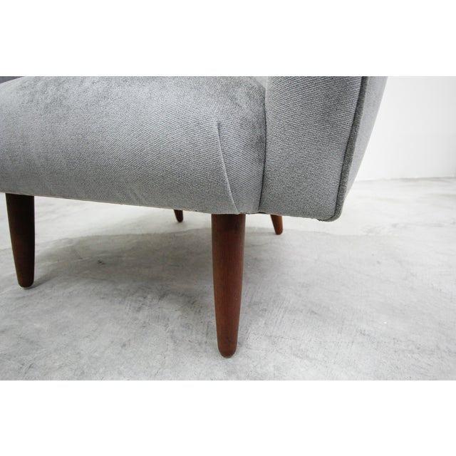 Wood Mid Century Danish Lounge Chair by Hans Olsen For Sale - Image 7 of 9
