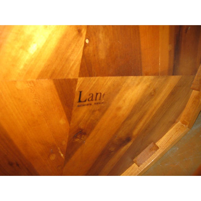 Lane Hexagonal Coffee Table For Sale - Image 9 of 10