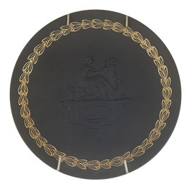 Image of Newly Made Metal Decorative Plates