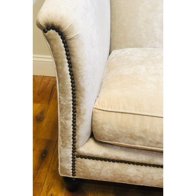 Dapha Upholstery Beige Sofa For Sale In West Palm - Image 6 of 13