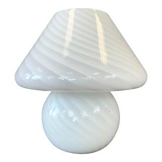 Vintage Vetri Murano Glass Mushroom Lamp