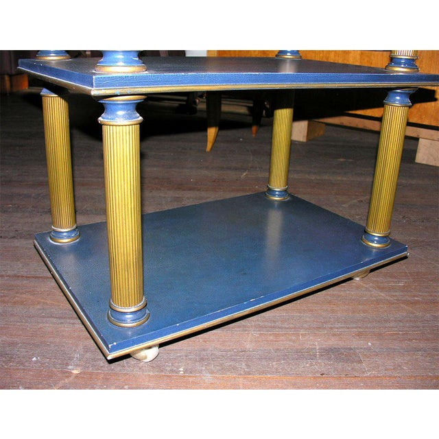 1960s Vintage James Mont Stand Table For Sale In New York - Image 6 of 15