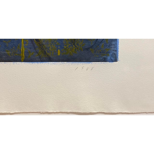 "Jim Dine ""Crommelynck Gate"" Lithograph Signed and Numbered by Jim Dine For Sale - Image 4 of 13"