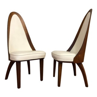 Chet Beardsley Atomic Age Dining Chairs - a Pair For Sale