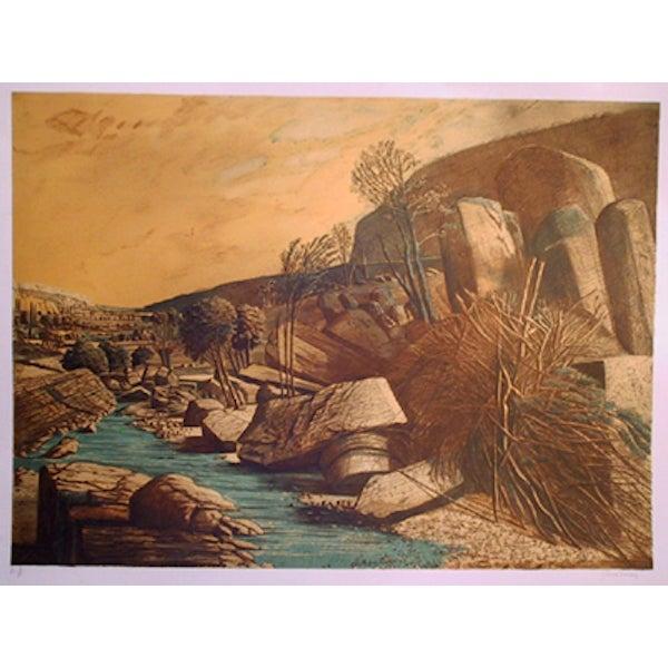 """Ivan Theimer, """"Le Leze IV,"""" Lithograph For Sale"""