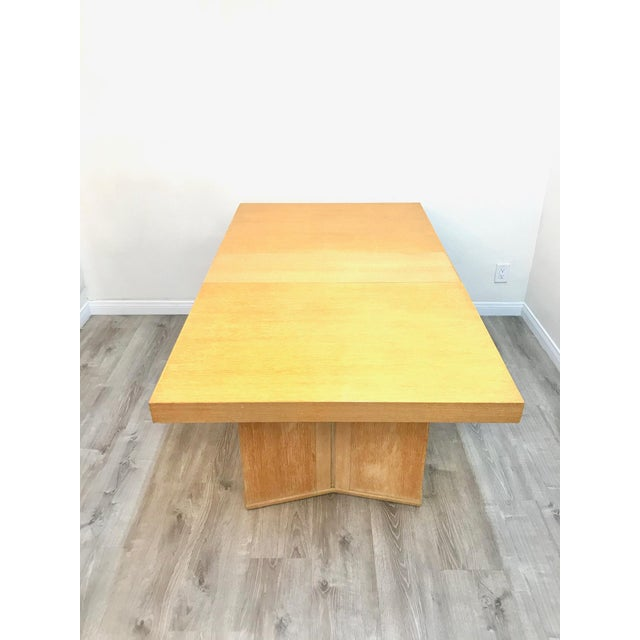 Mid Century Modern Paul Frankl Style Dining Table For Sale - Image 9 of 12