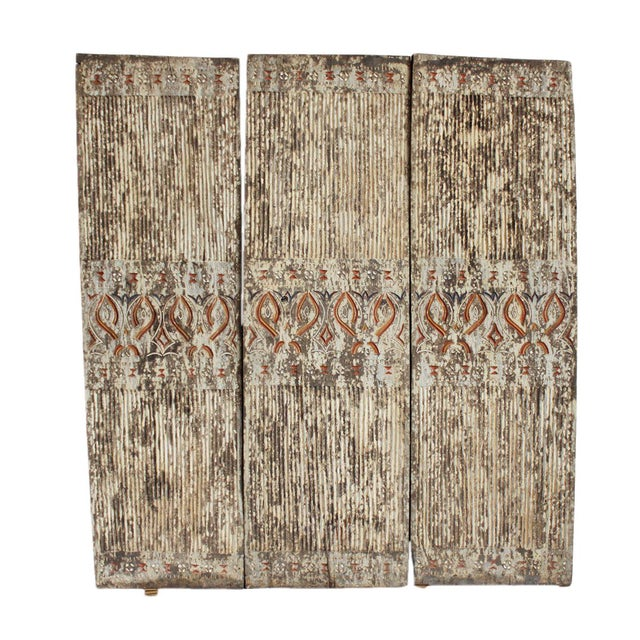 Asmat Wood Panels - Set of 3 - Image 1 of 2