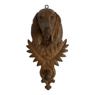 Black Forest Dog Leash Holder For Sale