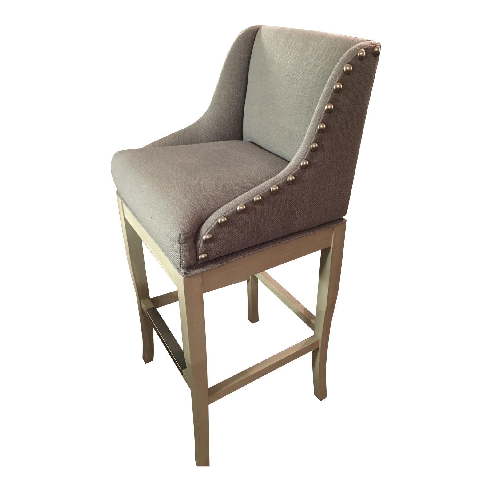 ballard design marcello bar stools - pair | chairish