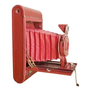 Eastman Kodak Camera in Red For Sale