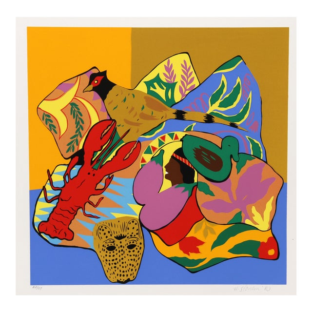 Image of Hunt Slonem Serigraph - Lobster