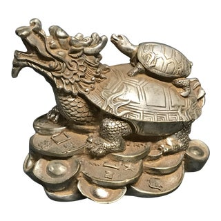 Bronze Chinese Art Lucky Charm Ganesh Sculpture For Sale