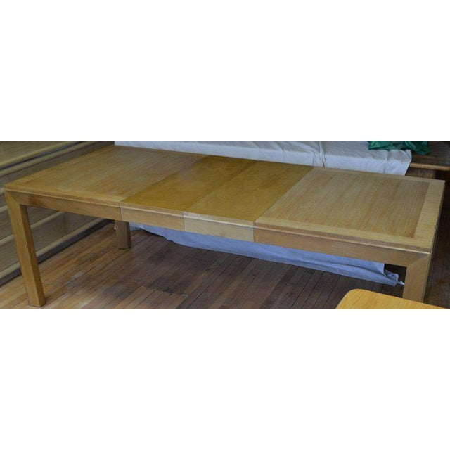 Dining Table With Two Leaves Designed by Robsjohn-Gibbings for Widdicomb For Sale - Image 12 of 13