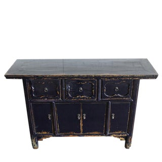 Dark Blue Altar Sideboard