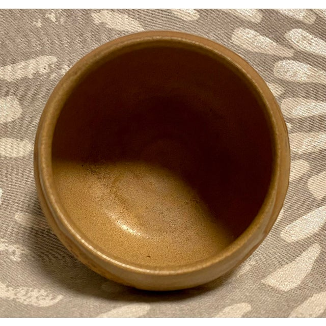 1970s Vintage Hand Crafted Novelty Studio Pottery Miniature Pot For Sale - Image 5 of 8