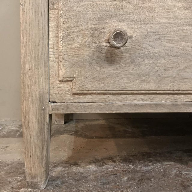 Antique French Louis XVI Whitewashed Bookcase ~ Vitrine For Sale - Image 12 of 13