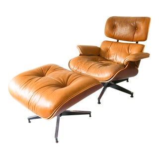 Eames Lounge Chair and Ottoman by Herman Miller For Sale